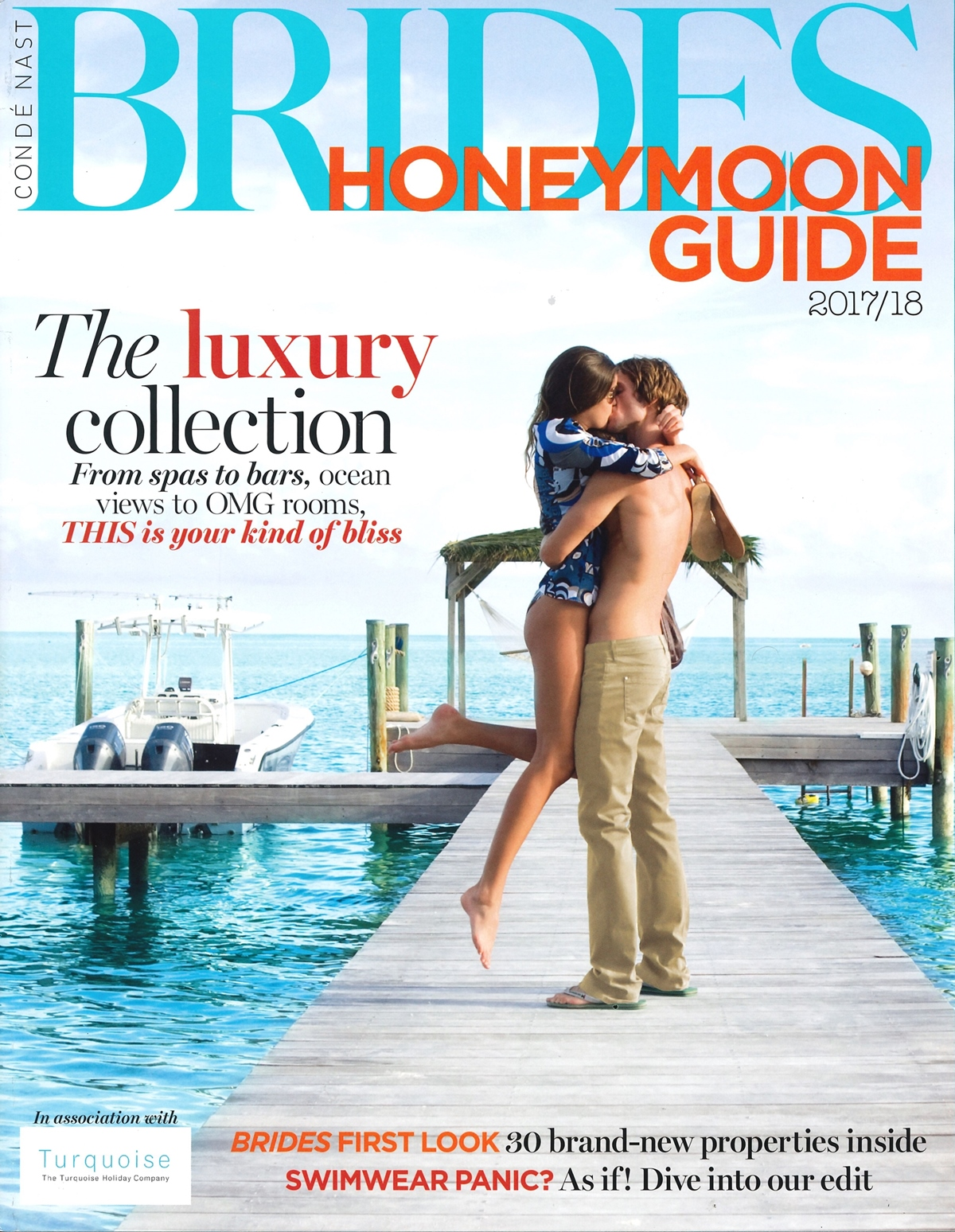 Conde Nast BRIDES Honeymoon Guide