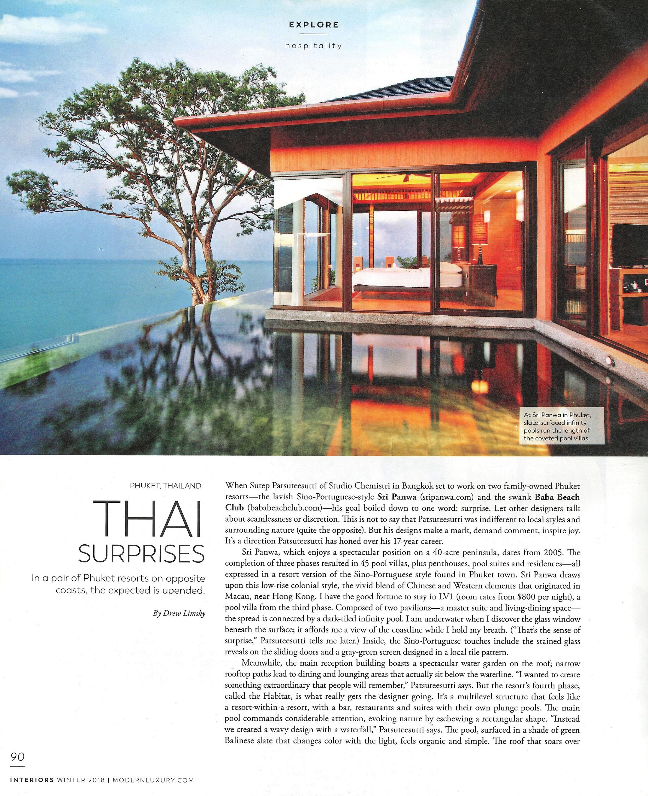 Mondern Luxury Interiors