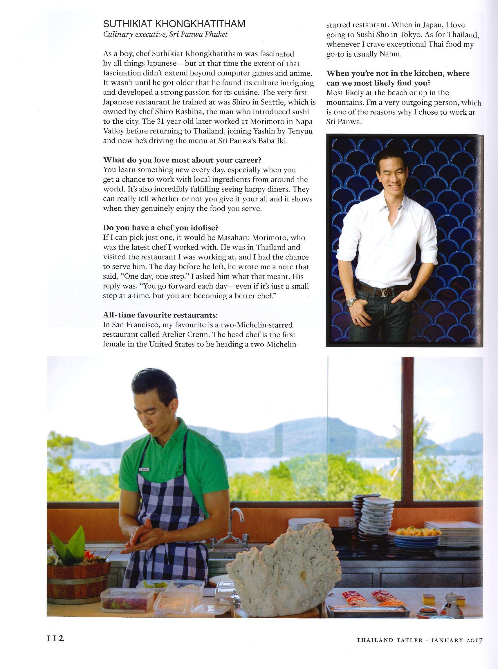 Thailand Tatler Magazine